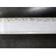 Карниз 2-х рядный Ажур 7см (белая)  2.4м (5)