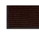 Коврик влаговпитывающий на резиновой основе 800х1200 мм коричневый РТИ