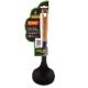Коврик на ступеньку черный елочка без скотча (300х1500 мм) РТИ