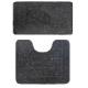 Набор ковриков BANYOLIN BAN.01.171/2 5080 черный (10)