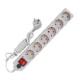 Сетевой фильтр 5м 6 гнезд с выкл. и индикатором (UNIVERSAL) УФ6-5М