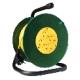 Удлинитель на катушке 20м 4 гнезда 3700Вт,с заземлением (Союз)